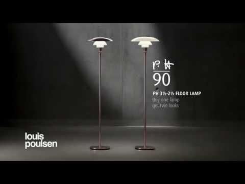 PH 3½-2½ Floor Lamp (Limited Edition) by Louis Poulsen