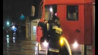 Pożar hali Stoczni Gdańskiej - Nie publikowane ujęcia