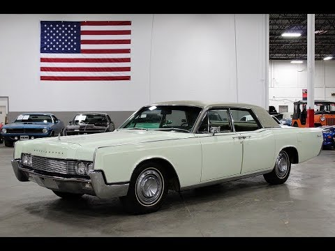 Video of '67 Continental - PW7M
