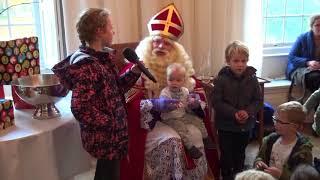 Sinterklaas in Het Witte Kasteel - Zwarte Piet ging uit fietsen