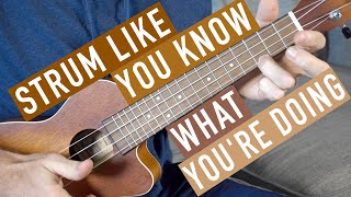 How to Actually Strum a Ukulele