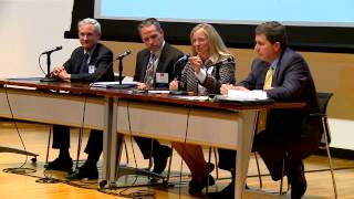 The Panel Discussion by Boston Business leaders, moderated by JD Chesloff