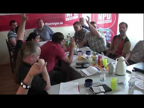 NPD Thüringen / Erweiterte Landesvorstandssitzung in Eisenach am 04.07.2012