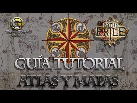 PATH OF EXILE | GUÍA TUTORIAL ATLAS Y MAPAS | ESPAÑOL