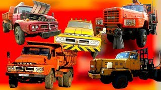 Как в СССР у Японии покупали тягачи лесовозы, грузовики самосвалы, как это было