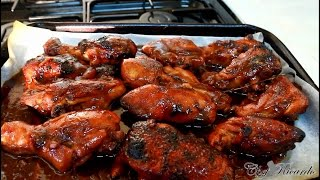 One Of The Jamaicans Top 10 Bbq Chicken Recipe & Video Ever   Recipes By Chef Ricardo