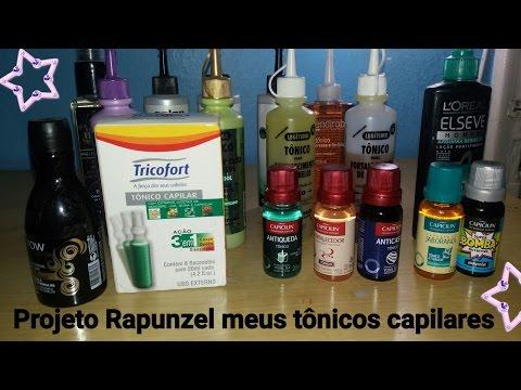 # Projeto Rapunzel Meus tônicos capilares😚