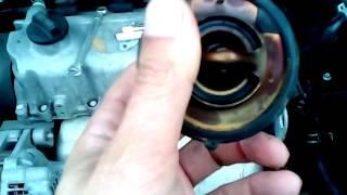Как заменить термостат (охлаждающую жидкость) в ЗАЗ Форза. Практические советы