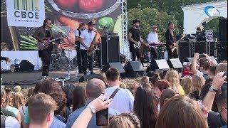 Группа «Уматурман» выступила на фестивале фермерской еды «Свое» в Великом Новгороде