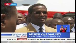 Walinzi wafanya mkutano huku baadhi yao wakitaka kupewa bunduki