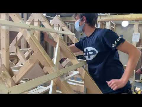 Another great week on our Carpentry Courses! - YouTube