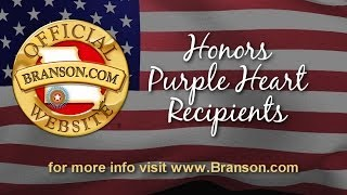 Branson.com Honors Purple Heart Recipients 2014 (Interviews) Video
