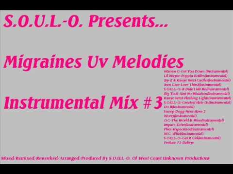 S.O.U.L.-O.-Greatest Hate Us(Instrumental)-Migraines Uv Melodies Instrumental Mix #3