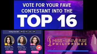 How to vote in the Miss Universe Philippines 2020