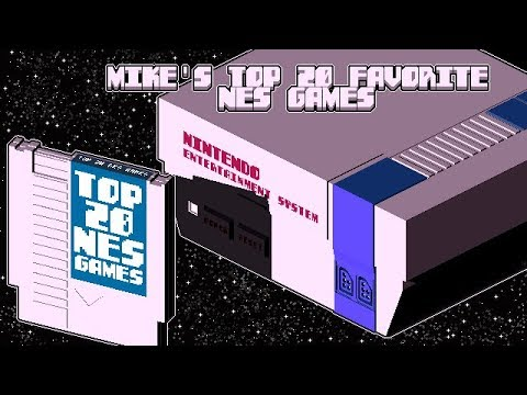 Top 20 Favorite Nintendo NES Games by Mike Matei