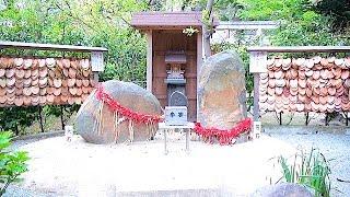 葛原岡神社,縁結びのご利益で人気上昇中,鎌倉江ノ島観光