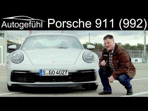 all-new Porsche 911 REVIEW with racetrack driving Hockenheimring Porsche 992 - Autogefühl