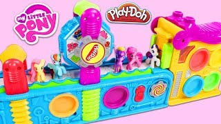 Gambar cover My Little Pony Friends Visit Magic Play Doh Mega Fun Factory Playset!