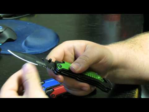 Wartech 8.5″ Spring Assisted 5 in 1 Pocket Knife review