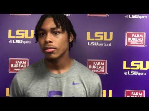 Justin Jefferson on LSU's win over Florida