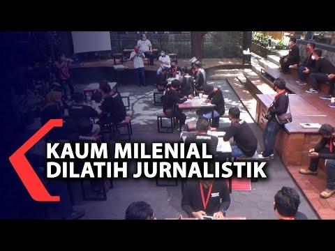 kaum milenial dilatih jurnalistik untuk promosikan wisata