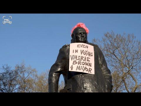 Churchill votes for Burning Pink Mayor Valerie Brown