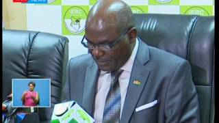 IEBC reaffirms its decision to do away with periodic announcements of presidential results