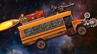 DIE ON THE MAGIC SCHOOL BUS - Earn to Die HD #2