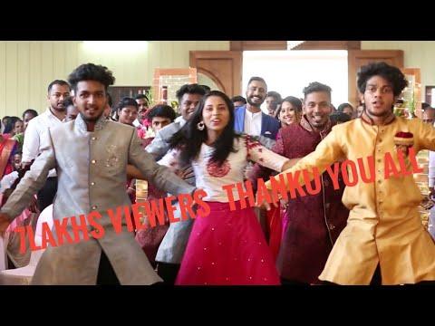 Betrothal welcome dance of ANJU and NIBIN