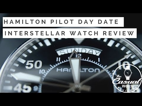 Best $600 Flieger Watch - Hamilton 'Interstellar' Khaki Pilot Day Date Review