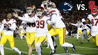USC's Dramatic Rose Bowl Win vs. Penn State || A Game to Remember