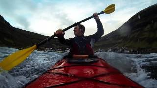 preview picture of video 'Kayak Surfing : Faroe Islands'