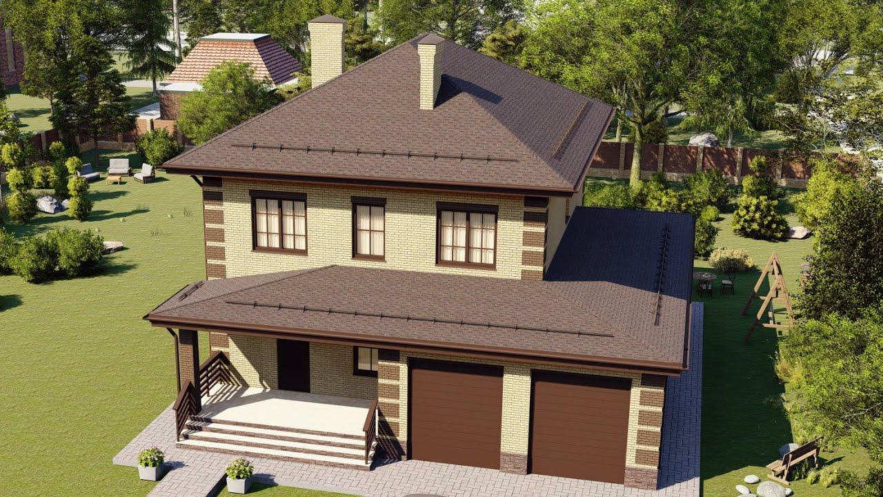 Современные дома из газобетона до 200 квадратных метров