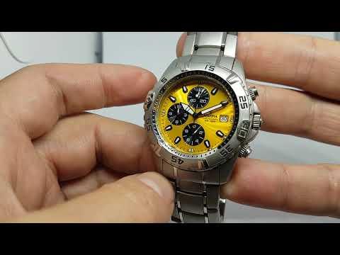 c2010 Festina Chronograph watch F16169/7