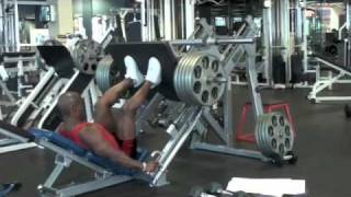 Calgary Personal Trainer Paul Anthony's German Leg Press Tutorial