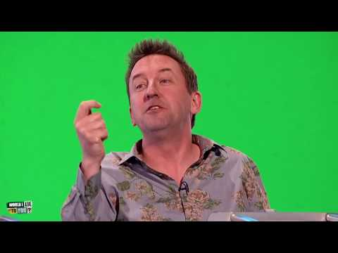 Lee Mack na svatbě