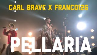 Carl Brave X Franco126   PELLARIA (Live Alcatraz Milano)  2018