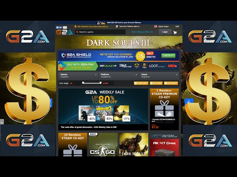 G2A site – How to MAKE MONEY online