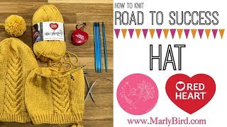 How to Knit Road to Success Chic Hat