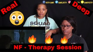 Mom Reacts To NF   Therapy Session | Reaction Ft. J100