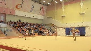 XXXIII Всероссийские соревнования по художественной гимнастике памяти Галины Горенковой