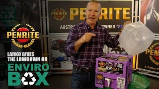 Penrite Oil Enviro Box™, Australia's first locally produced innovative packaging solution.