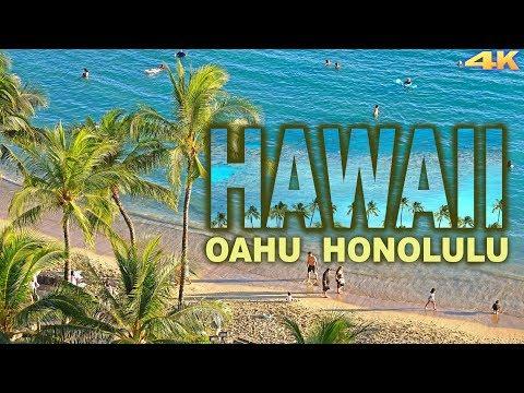 HAWAII, OAHU - HONOLULU 4K