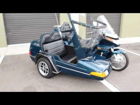 1994 Honda Goldwing Aspencade GL1500 with California Sidecar lean assist Review