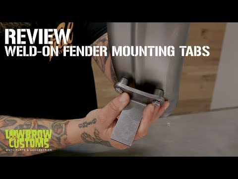 Weld-on Fender Mounting tabs for Custom Motorcycle – Chopper – Bobber – Review