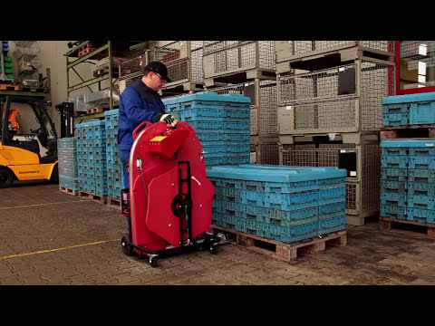 The solution - ErgoPack Pallet Strapping From Trio Packaging Systems