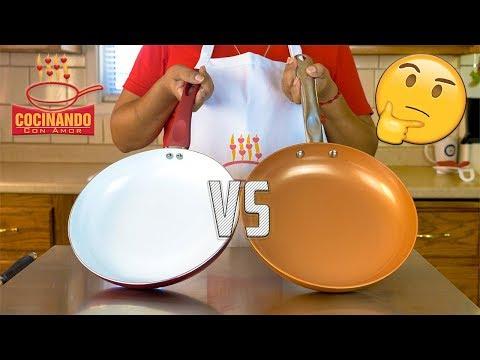 Cobre vs. Cerámica: Comparando Sartenes - Cocinando Con Amor