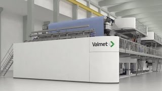 Valmet OptiConcept M - Completely New Way To Design, Build And Operate A Paper Machine