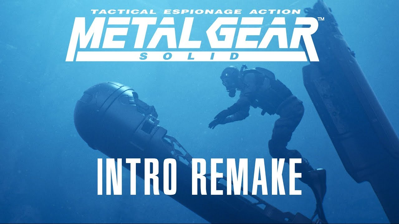 Metal Gear Solid 1998 Intro (Remake)