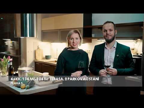 Video Prodej bytu 4+kk v osobním vlastnictví 134 m², Praha 5 - Košíře
